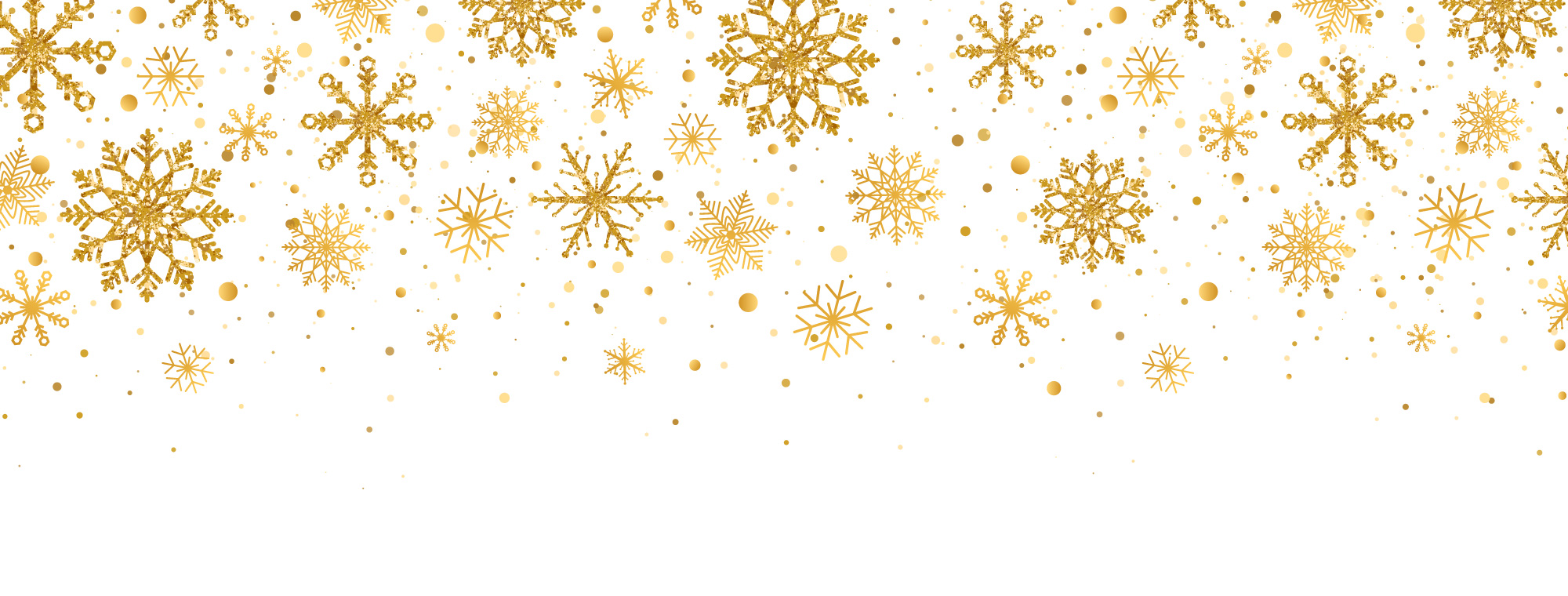 Gold-Snowflakes-Background